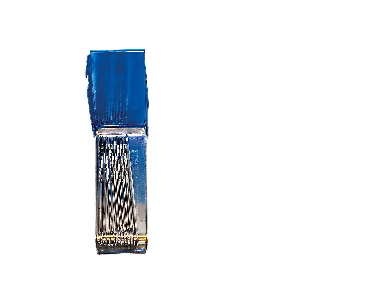 Čistenie autogenu-pilníky ihly