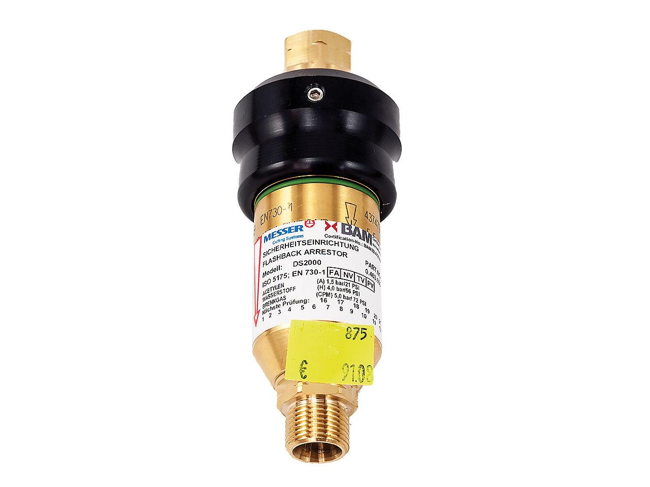 Suchá predloha DS200 horľ. plyn, G3/8 LH