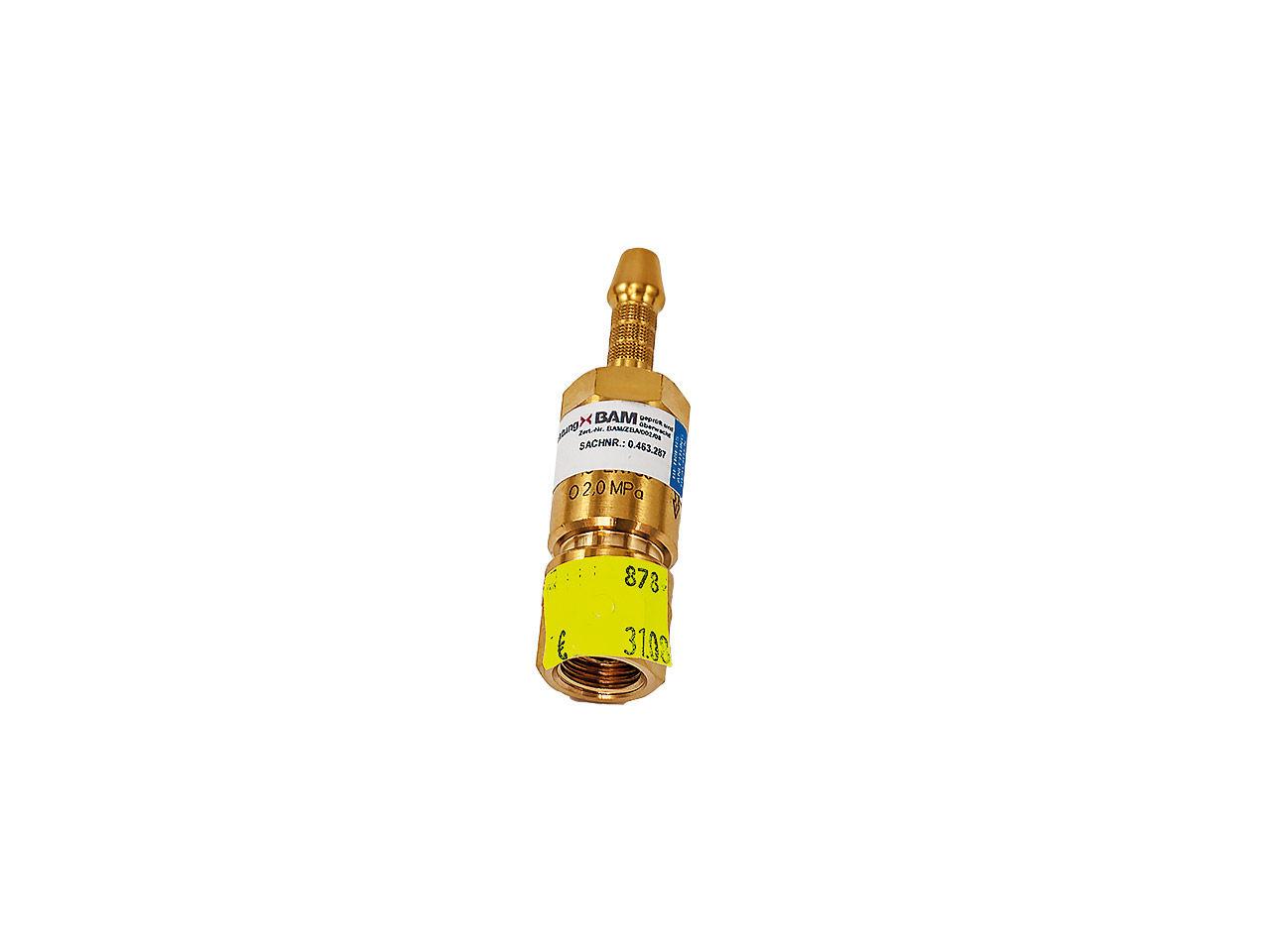 Poistka GT 91 1/4 kyslík s hadičníkom 9 mm